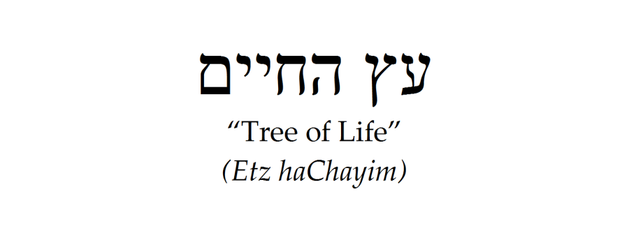 """Hebrew for """"Tree of Life"""""""