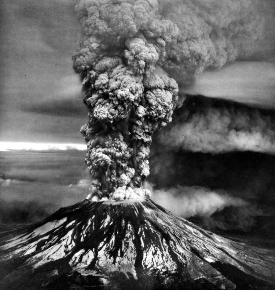 Mount St. Helens eruption, 1980