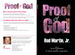 Proof of God book cover full