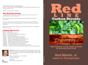 Red Line - Carbon Dioxide book cover full