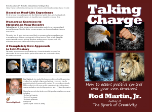 Taking Charge book cover full