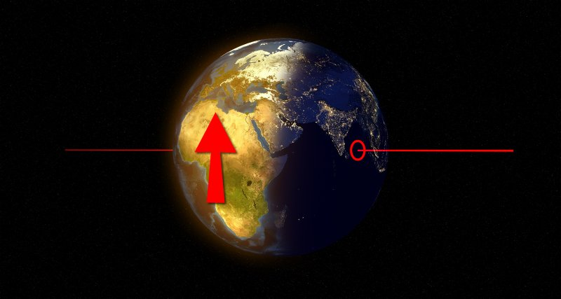 Mission: Atlantis picture. hypothetical Euler poles of Africa plate movement relative to Eurasia before about 36 Mya.