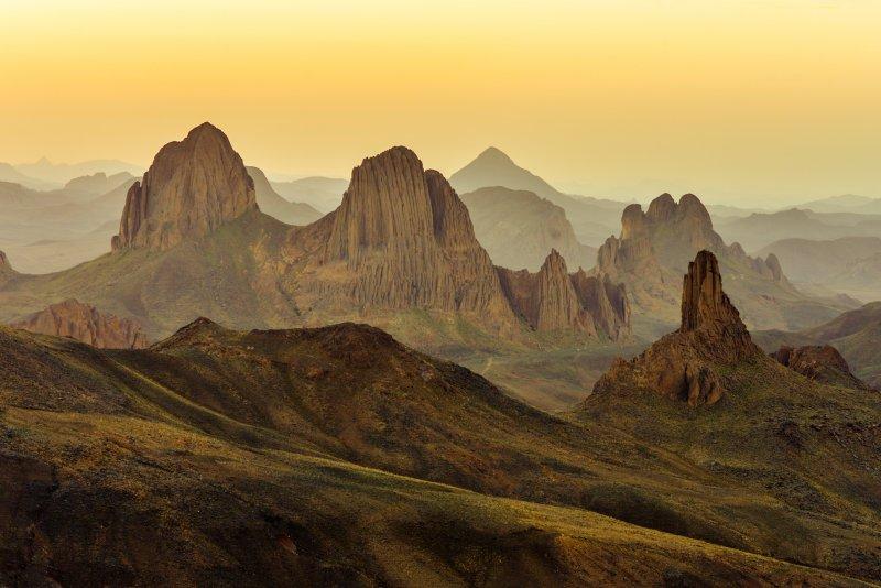 Mission: Atlantis picture. Hoggar Mountains, Algeria.